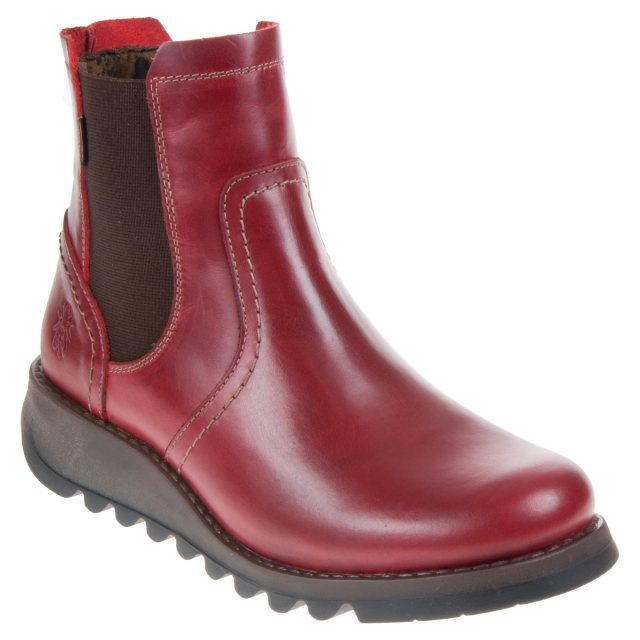 Fly London Scon Gortex Red SCON058FLY - Ankle Boots - Humphries Shoes 6b66fcce5