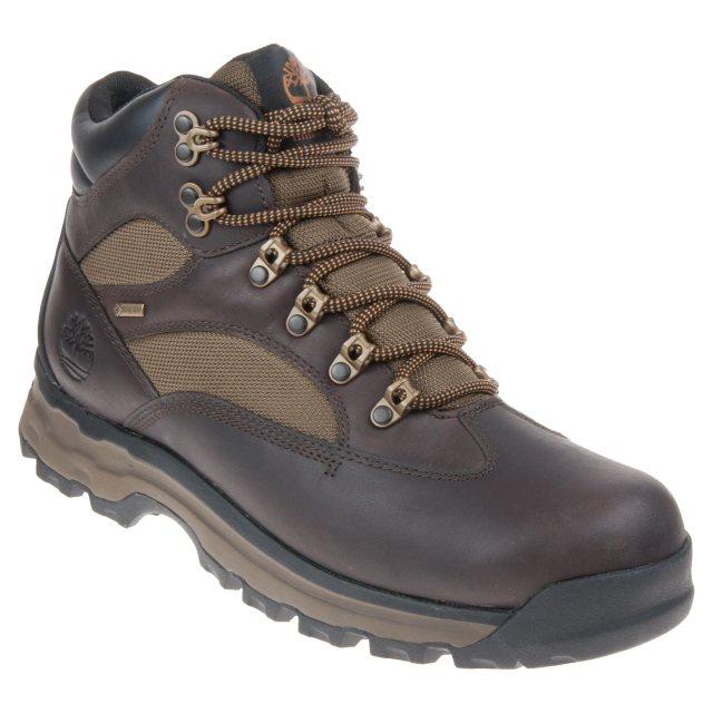 ranura Miseria Pack para poner  Timberland Chocorua Mid Gore-Tex Mens Dark Brown A1HKQ - Outdoor Boots -  Humphries Shoes
