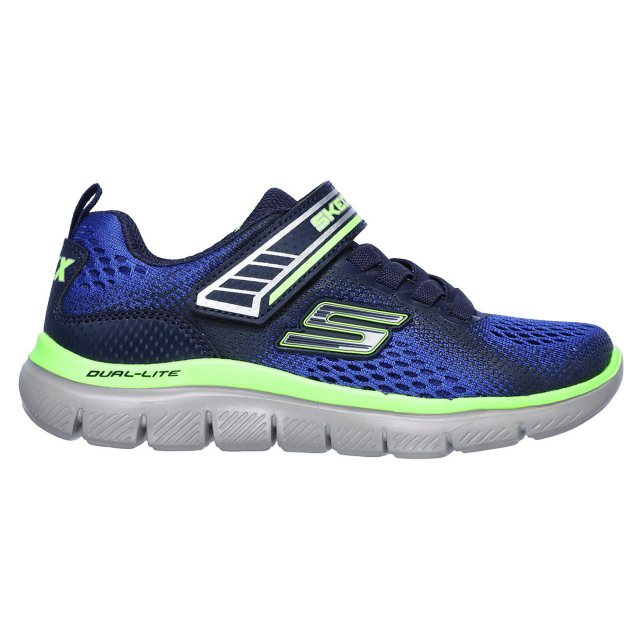 03f927478706 Skechers Flex Advantage 2.0 - Geo Blast Blue   Navy 97499L BLNV ...