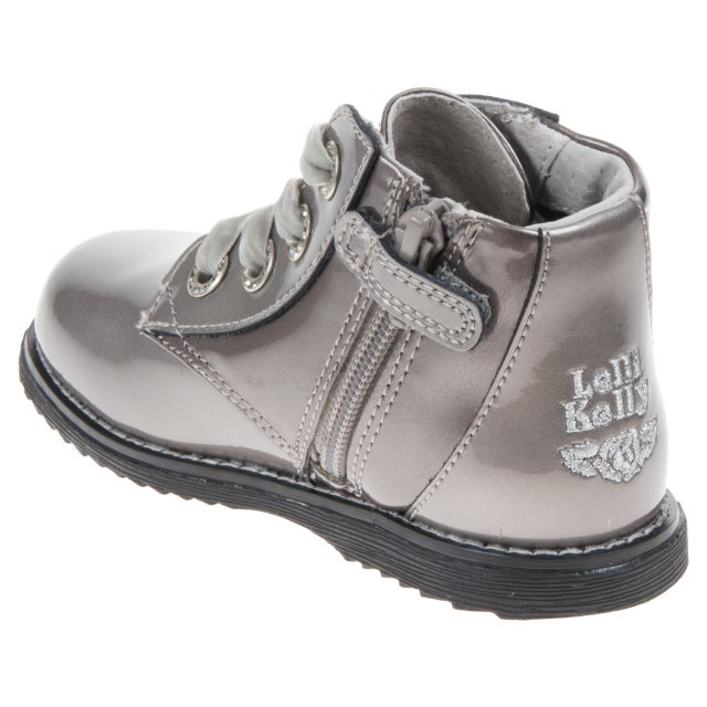 Lelli Kelly Camille Pewter Patent 3110