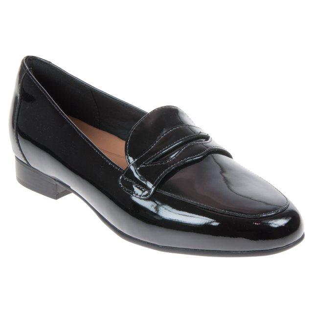 ead427a5584 Clarks Un Blush Go Black Patent Leather 26135749 - Everyday Shoes ...