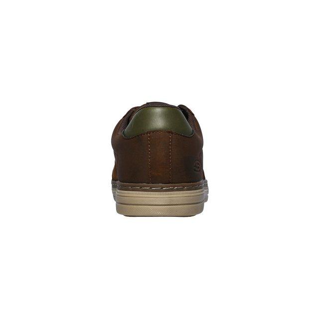 Skechers 65876 HESTON AVANO Brown Mens casual shoes