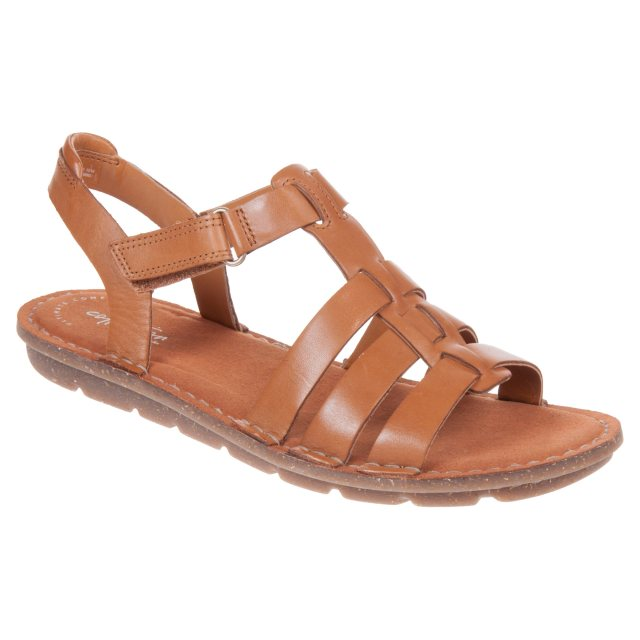 309bb8df6742 Clarks Blake Jewel Tan 26141624 - Full Sandals - Humphries Shoes