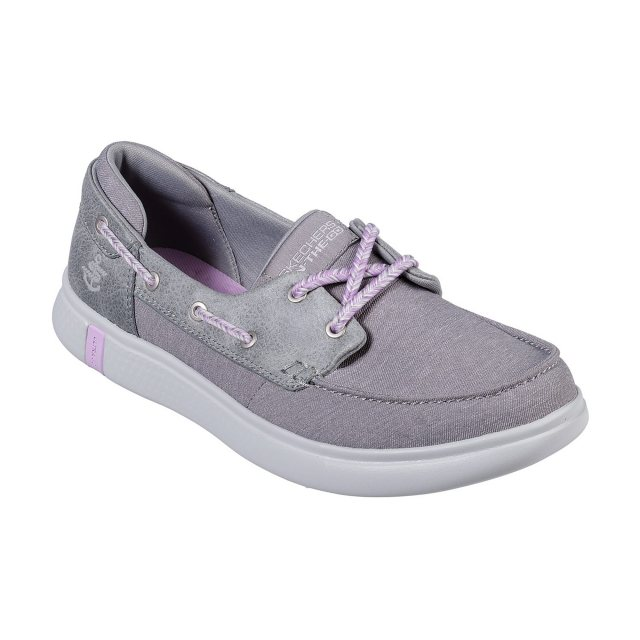 c7f35417544 Skechers On the GO Glide Ultra - Playa Grey 16110 GRY - Boat Shoes ...