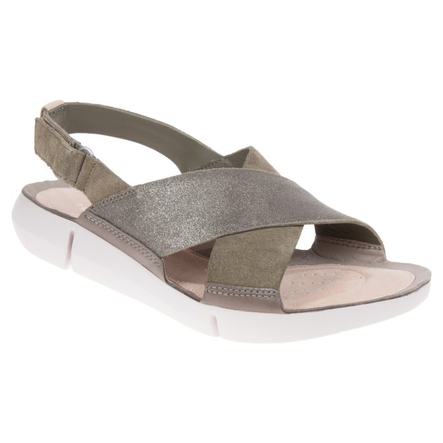 a10644a5b28ce Clarks Tri Chloe Olive 26138949 - Full Sandals - Humphries Shoes