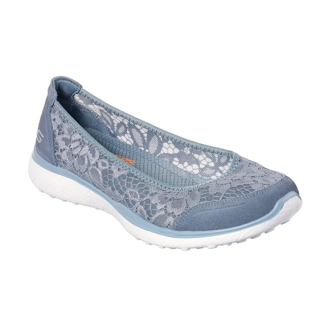 9bf798cd10bc Skechers Microburst - Sweet Bloom Slate Grey 23581 SLT - Ballerina ...