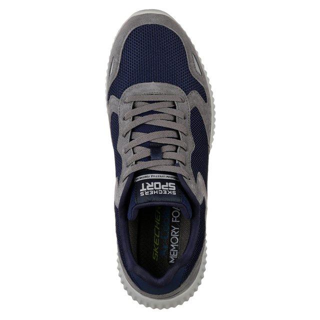 Skechers Paxmen Charcoal Navy 52518