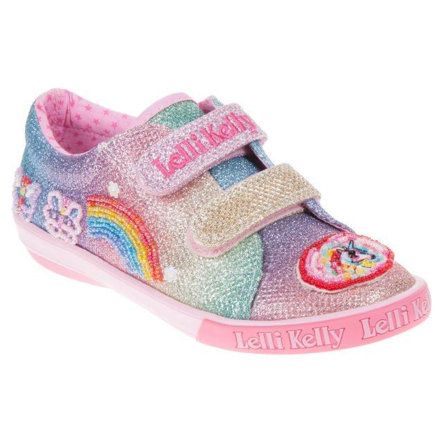 b9f650a12d7a6 Lelli Kelly Rainbow Sparkle Velcro