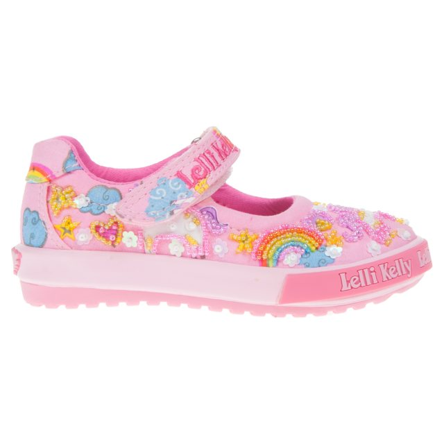 fd98860d Lelli Kelly Unicorn Pink Fantasia LK9000 - Girls Canvas Styles ...