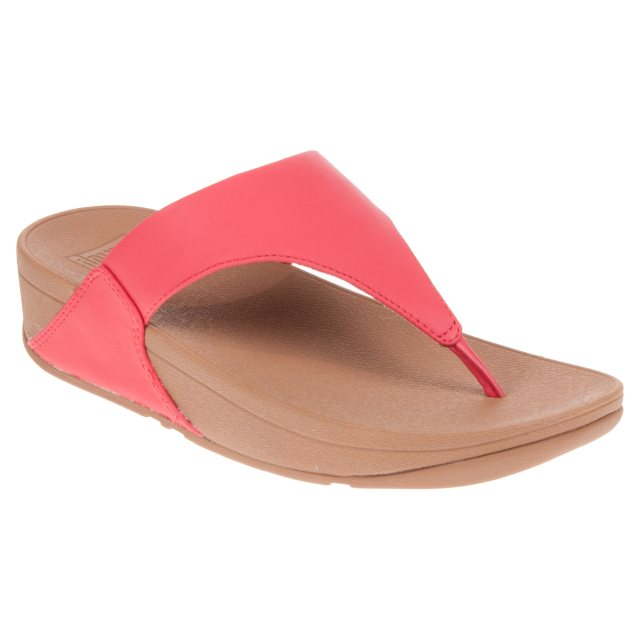 083d2a917 FitFlop Lulu Leather Passion Red I88-695-050 - Toe Post Sandals ...