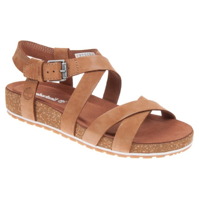 831fb775b13 Timberland Malibu Waves Ankle Strap Rust Nubuck A1MQR - Full Sandals ...