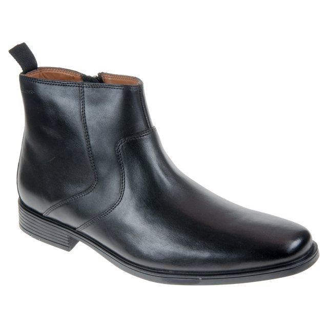Clarks Tilden Zip Black 26127729