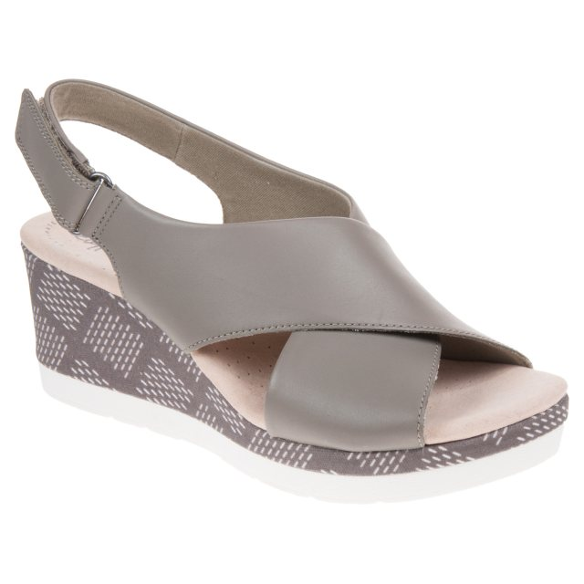 bc9f7878c Clarks Cammy Pearl Olive 26139922 - Full Sandals - Humphries Shoes