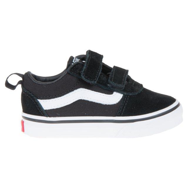 Vans Toddlers Ward Velcro Black / White
