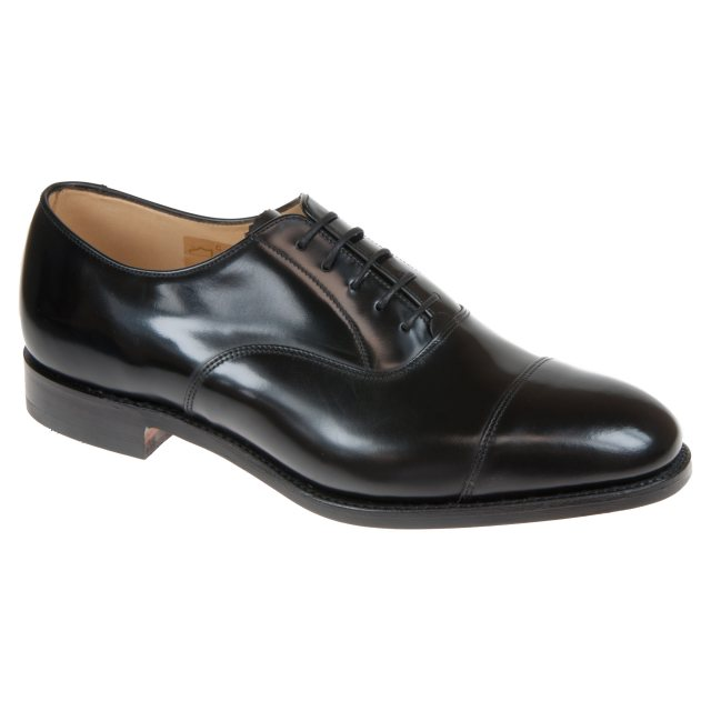 Interminable Rey Lear Descubrimiento  Loake 747B Black Polished Leather 747B - Formal Shoes - Humphries Shoes