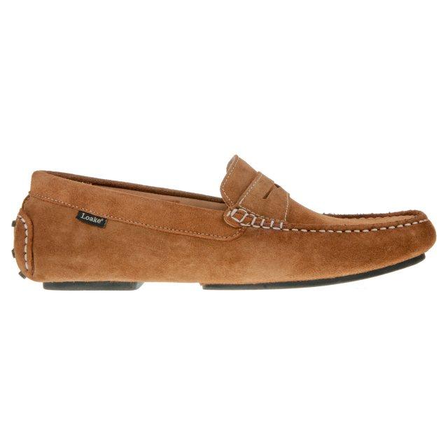 Loake Herbert Tan Suede - Formal Shoes