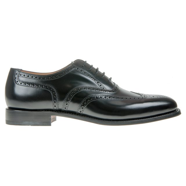 b0013a3f Loake 202 Black - Formal Shoes - Humphries Shoes