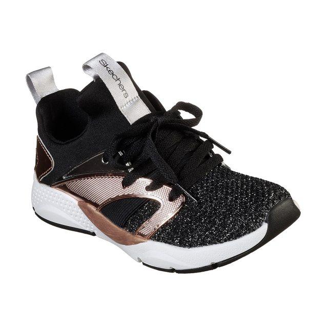 Skechers Shine Status Black / Rose Gold