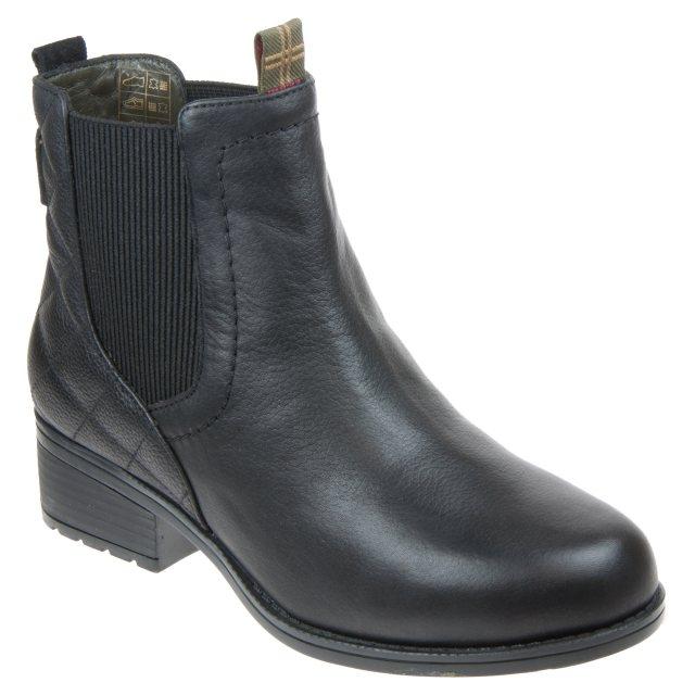 barbour black chelsea boots