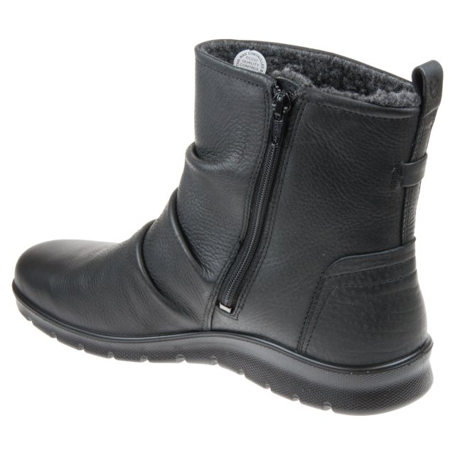 Ecco Babett Boot Black 215623 01001